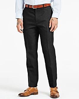 Farah Black Anti Stain Twill Trousers 27in Leg