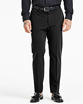 Farah Black Roachman Stretch Twill Trousers 27in Leg