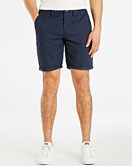 Luke Sport Navy Tailored Chino Short