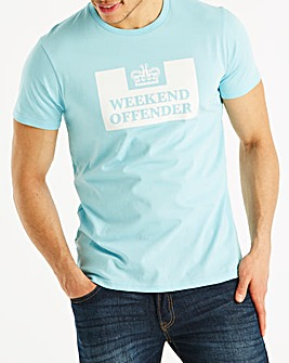 Weekend Offender Atlantic Prison T-Shirt Regular