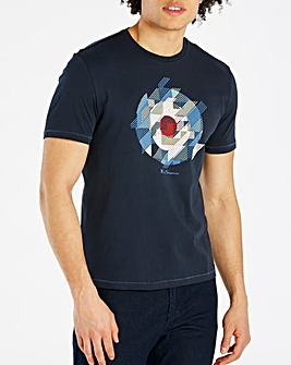 Ben Sherman Chevron T-Shirt Regular