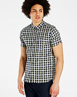 Ben Sherman Texture Check Shirt Regular