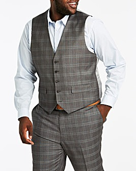Joe Browns Bellemont Check Stretch Suit Waistcoat