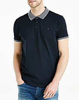 Weekend Offender Navy Flemming Short Sleeve Polo Regular