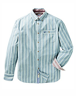 Mantaray WM Brushed Stripe Shirt