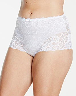 Gossard Gypsy White Deep Shorts