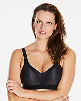 Triumph Triaction Black Sports Bra