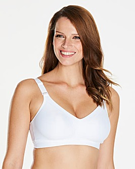 Triumph Triaction White Sports Bra