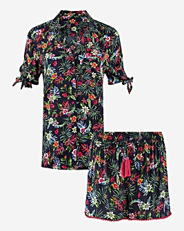 Joe Browns Floral Short Pyjamas Set