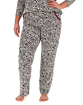Joe Browns Zebra Print Pyjama Trouser