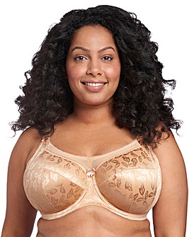 Goddess Petra Full Cup Wired Sand Bra