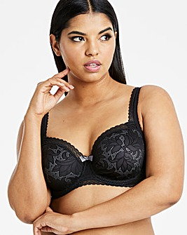 Playtex Invisible Elegance Black Bra