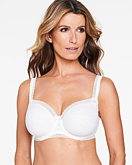 Playtex Invisible Elegance Antique Wht Balcony Bra