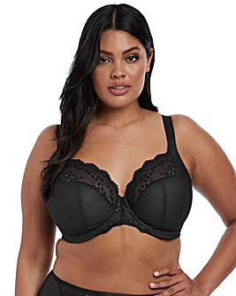 Elomi Charley Plunge Wired Black Bra