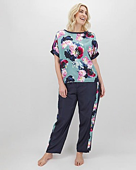 Joe Browns Satin Floral Pyjamas