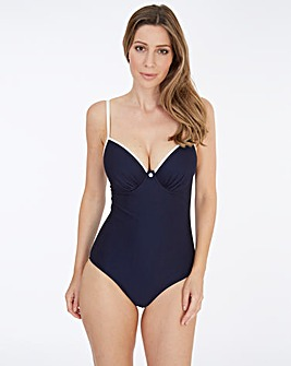 Lepel Plain Sailing Pad Plunge Swimsuit