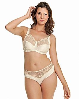 Royce Champagne Non wired Support Bra