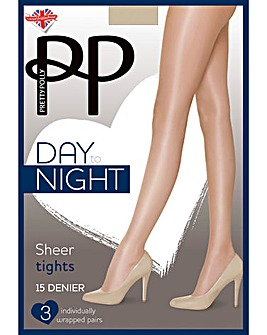 Pretty Polly 3 Pack Day to Night Tights