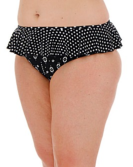 Together Monochrome Mix Bikini Brief