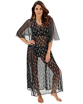 Together Monochrome Mix Maxi Kaftan