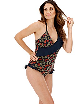 Joe Browns V-Neck Frill Detail Swimsuit