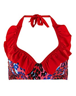 Joe Browns Funky Animal Bikini Top