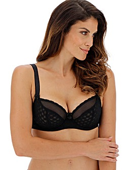 Curvy Kate Dottie Black Balcony Wired Bra