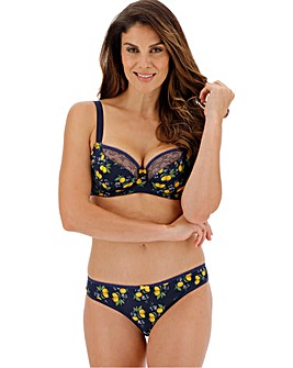 Curvy Kate Lemonade Print Balcony Wired Bra