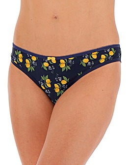 Curvy Kate LemonadePrint Brazilian Brief