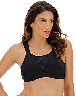Freya Active Dynamic Jet Black Non Wired Sports Bra