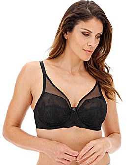 Fantasie Anoushka High Apex Wired Black Bra