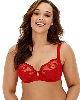 Fantasie Anoushka Plunge Wired Red Bra