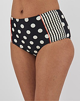 Joe Browns Floral Print High Waist Bikini Briefs