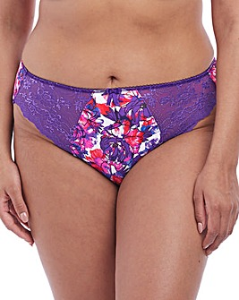 Elomi Morgan Carnival Purple Print Briefs