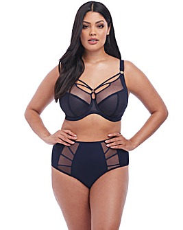 Elomi Sachi Navy Plunge Wired Bra