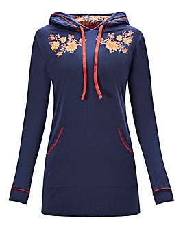Joe Browns Longline Lounge Hoodie