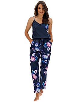 Joe Browns Satin & Lace Cami PJ Set