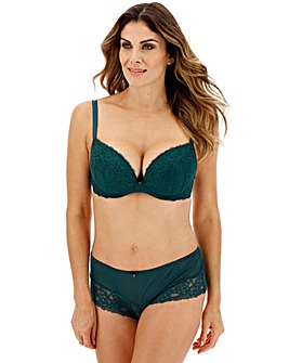 Ann Summers Sexy Lace Plunge Teal Bra