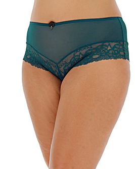 Ann Summers Sexy Lace Teal Shorts