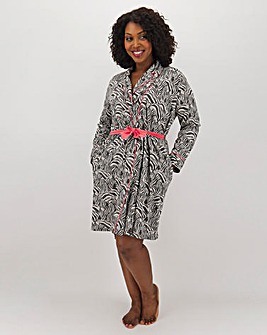 Joe Browns Zebra Dressing Gown