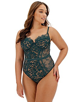 Ann Summers Love Me True Green Body