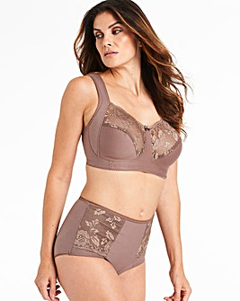 Miss Mary Lovely Lace Brown Bra