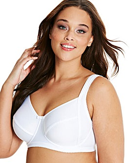 Miss Mary Happy Days Wired White Bra