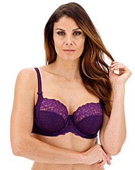 Panache Envy Purple Balcony Wired Bra