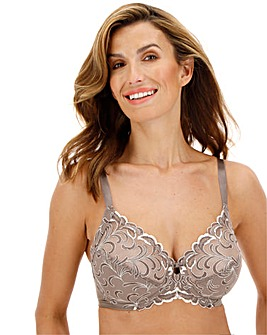 Triumph Modern Finesse Brown Bra