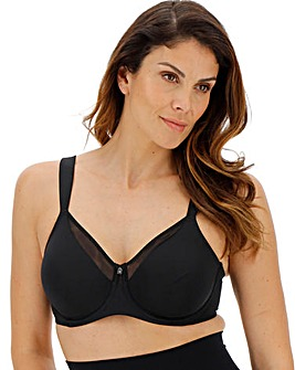 Triumph True Shape Sensation Black Minimiser Bra