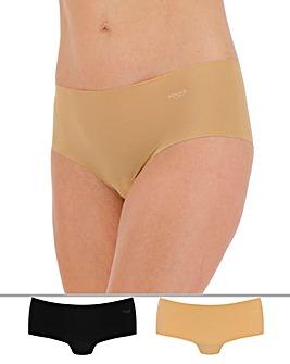 Sloggi Zero 2Pack Microfibre Shorts