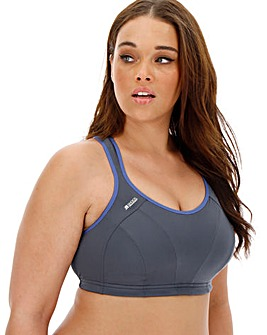 Shock Absorber Grey/Blue Sports Bra