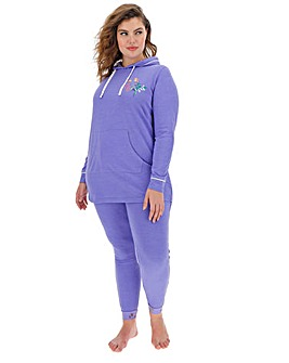 Joe Browns Embroidered Longline Hoodie