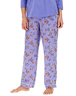 Joe Browns Lilac Floral Print PJ Bottoms